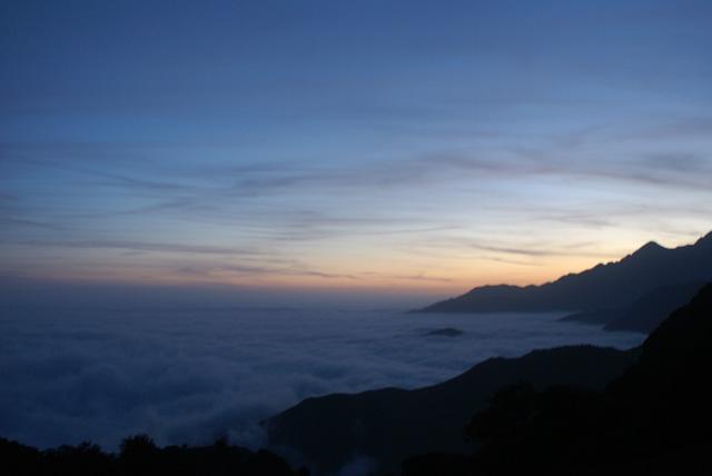 Über den Wolken …