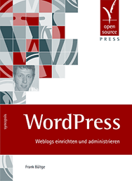 Cover WordPress Buch