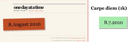4k vs 1k mit HTML5, CSS3 uns JavaScript