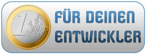 1 Euro Day - Einen Euro für Euren Entwickler