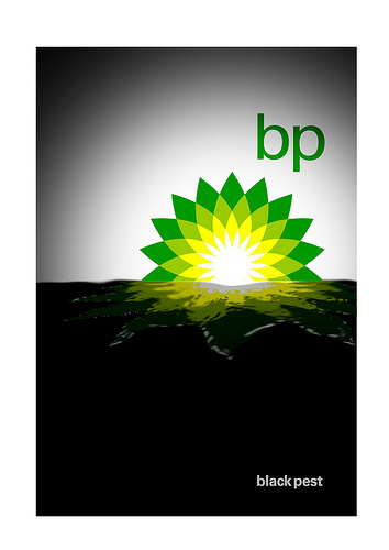 BP Logo von Greenpeace UK