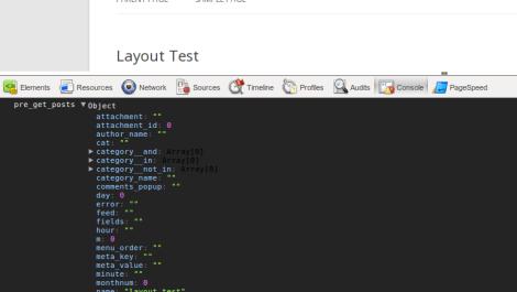 Chrome Logger – ChromePHP