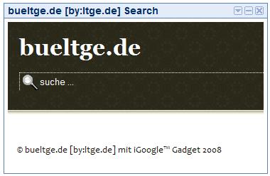 iGoogle Gadget