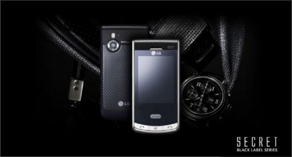 LG Secret KF 750 Homepage