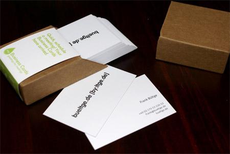 MOO Businnes cards