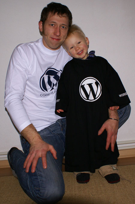 WordPress Shirts Live