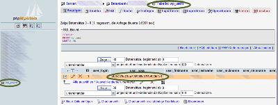 Screenshot phpMyadmin wp_users