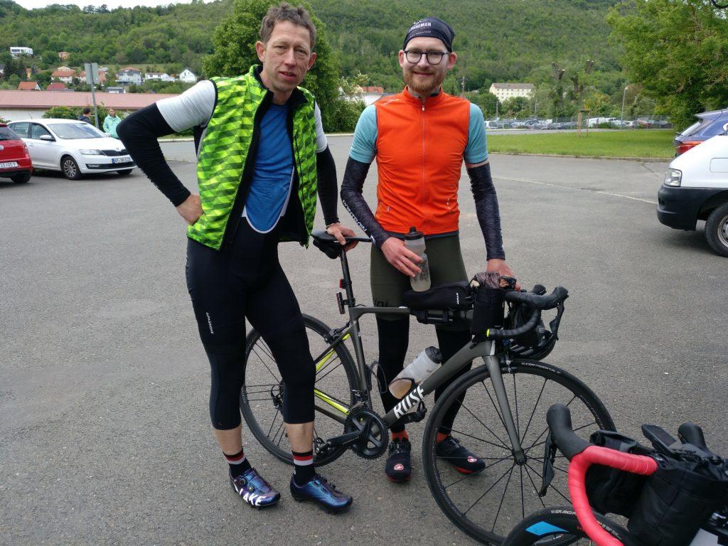 Martin und ich nach Thüringen erfahren 2020