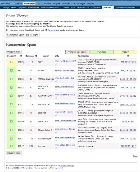 SpamViewer Screenshot