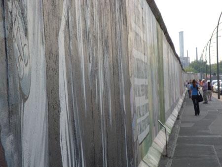 Die Mauer im Berlin ist hoffentlich nicht im Kopf