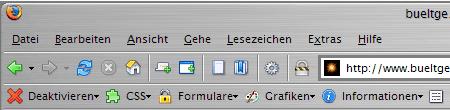 WebDeveloper im FF