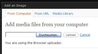 Browser Uploader