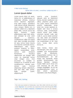 WordPress im Zeitungsstiel