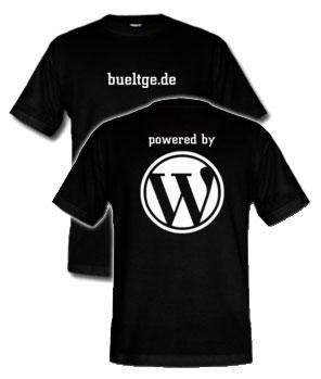 WordPress Nick Shirt