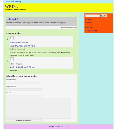 HTML5 visuell dargestellt